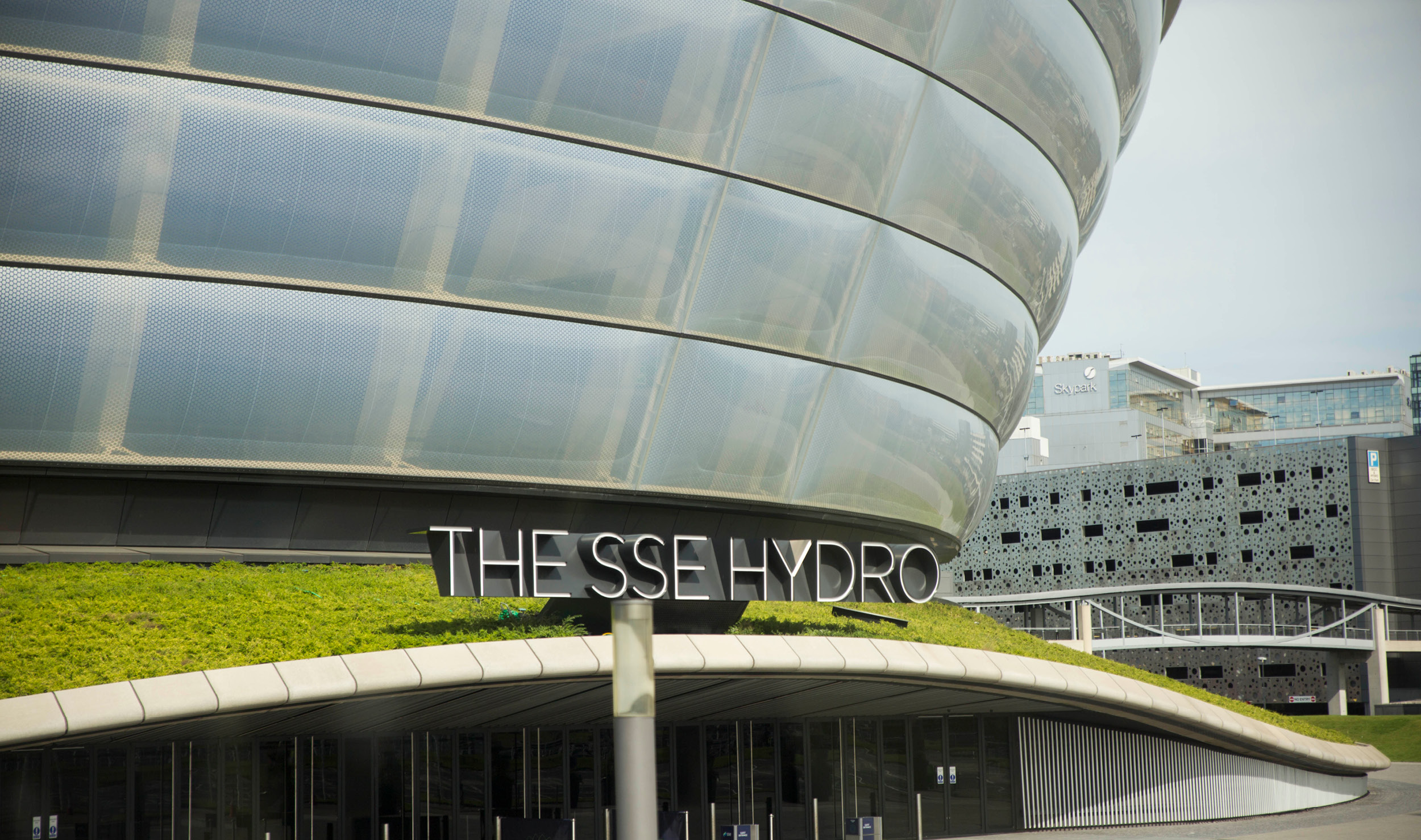 SSE Hydro front entrance